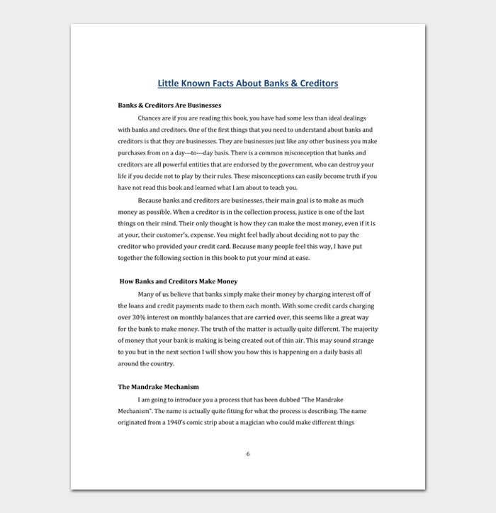 Debt validation letter #06