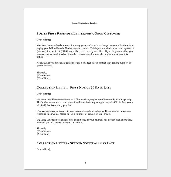 Polite First Reminder Letter for a good Customer