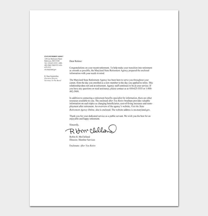 Congratulation Letters #01