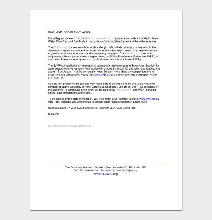 Congratulation Letters For Promotion #42