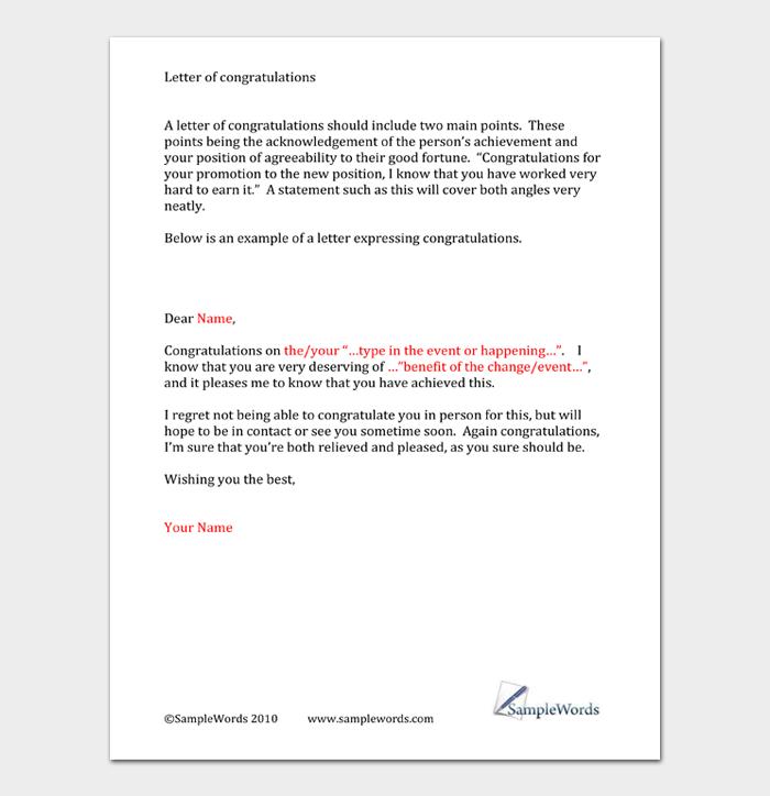Graduation Congratulation Letters #37