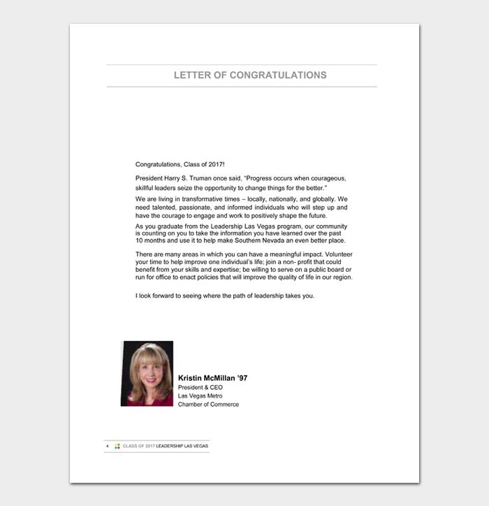 Retirement Congratulation Letters #11