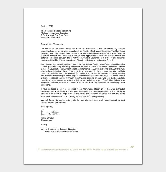 Retirement Congratulation Letters #12