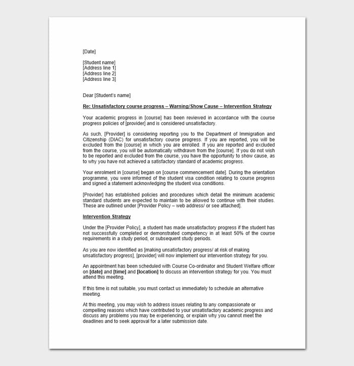 Employee Disciplinary Letter 5