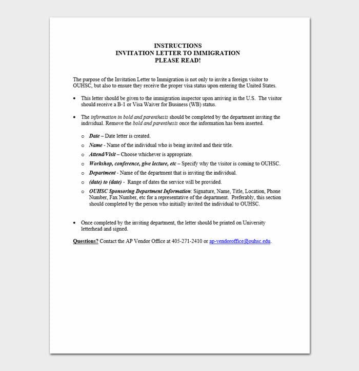 Immigration Letter 4