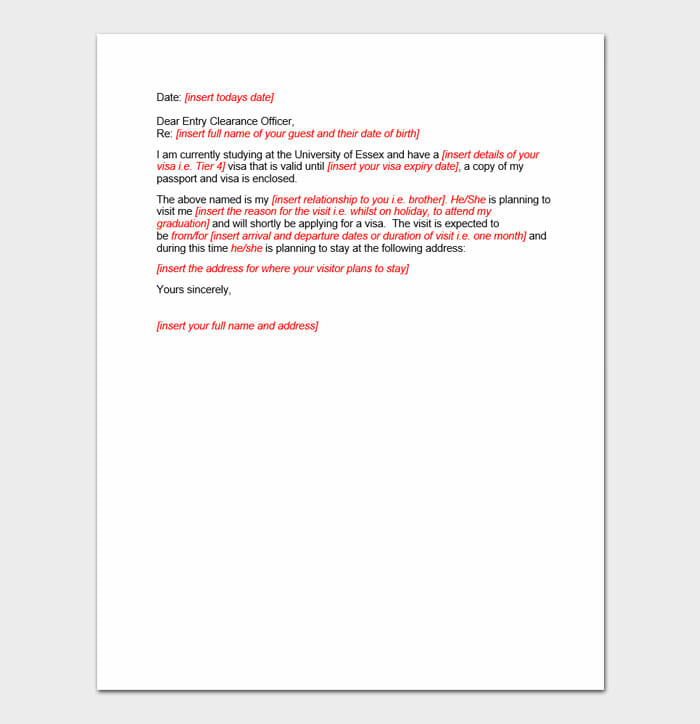 Immigration Letter 7