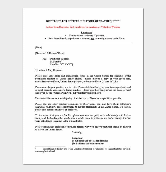 Immigration Letter 8