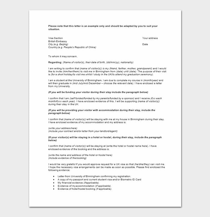 Character Reference Letters For Immigration 2