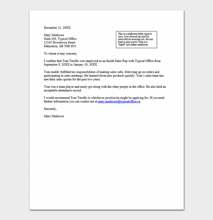 Immigration Letters Of Recommendation 1