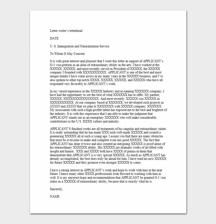 Immigration Letters Of Recommendation 4