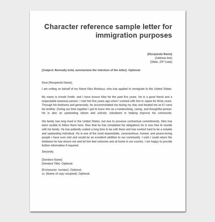 Immigration Letters For A Friend 6