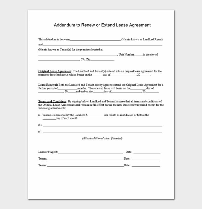 Lease Renewal Forms 10
