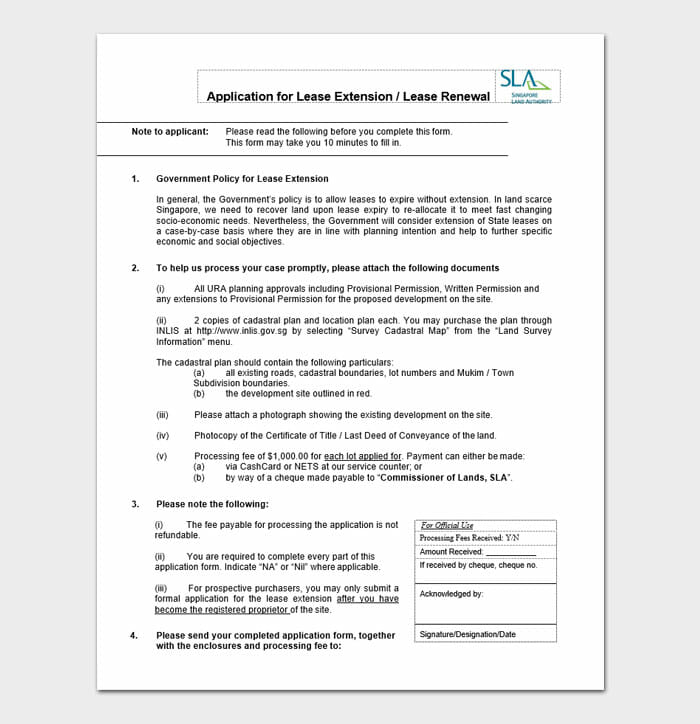 Commercial Lease Renewal Letters 1