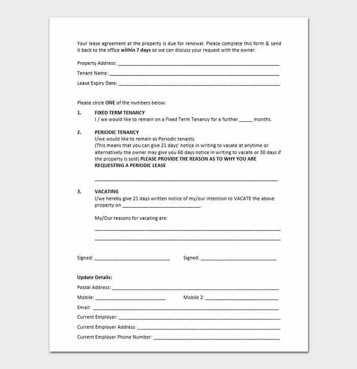 Commercial Lease Renewal Letters 5