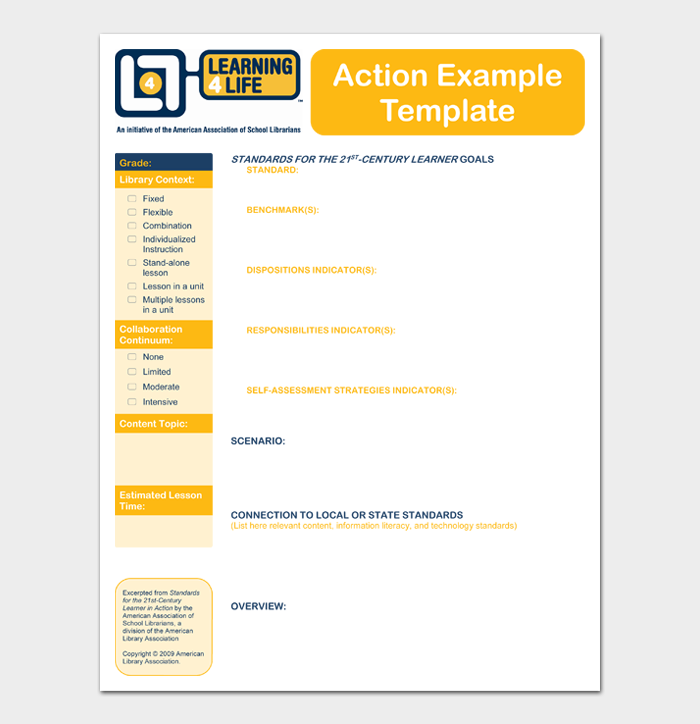 Action Example