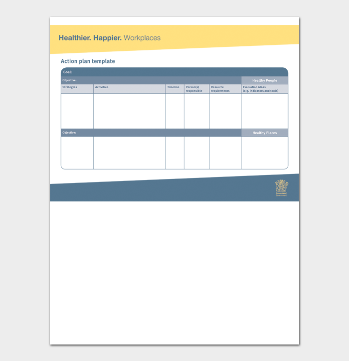Action Plan Template #02