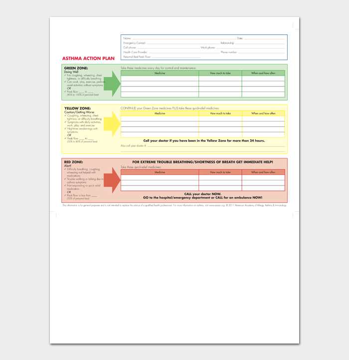 Action Plan Template #07