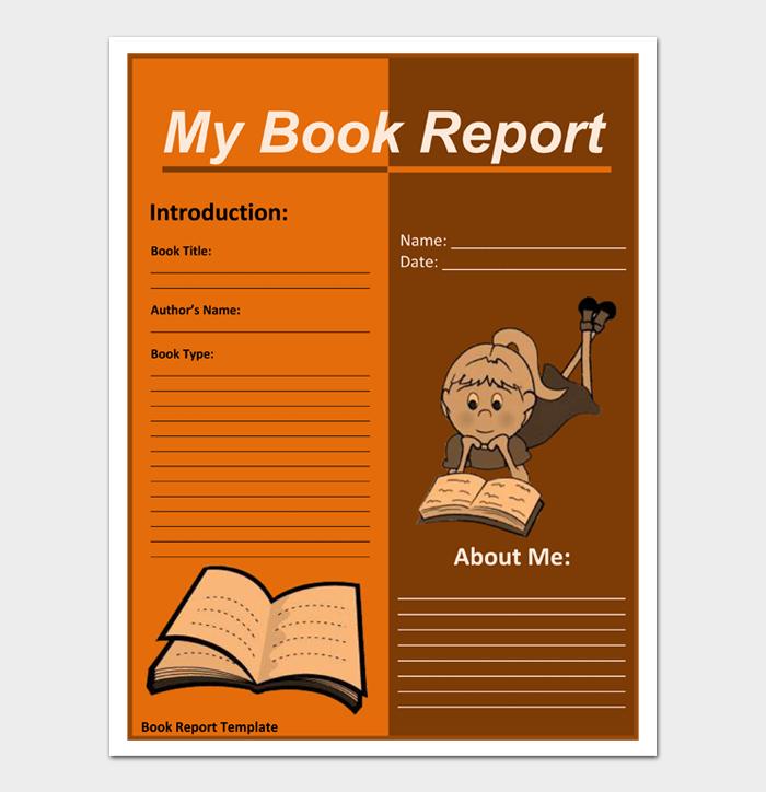 Book Report Templates #03