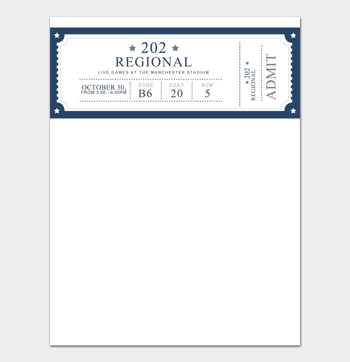 Event Ticket Templates #06