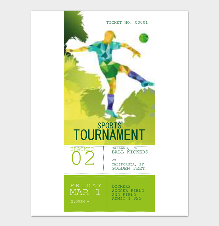 Event Ticket Templates #08
