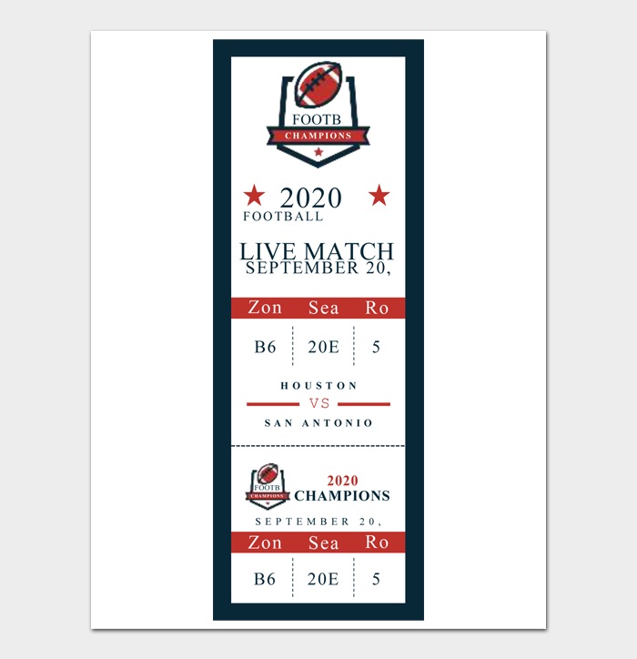 Event Ticket Templates #12