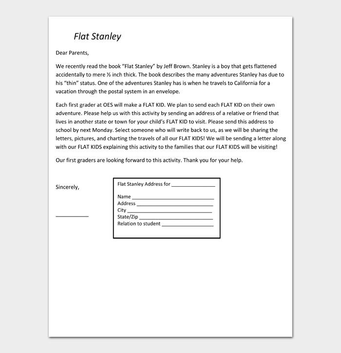 Flat Stanley Templates #07