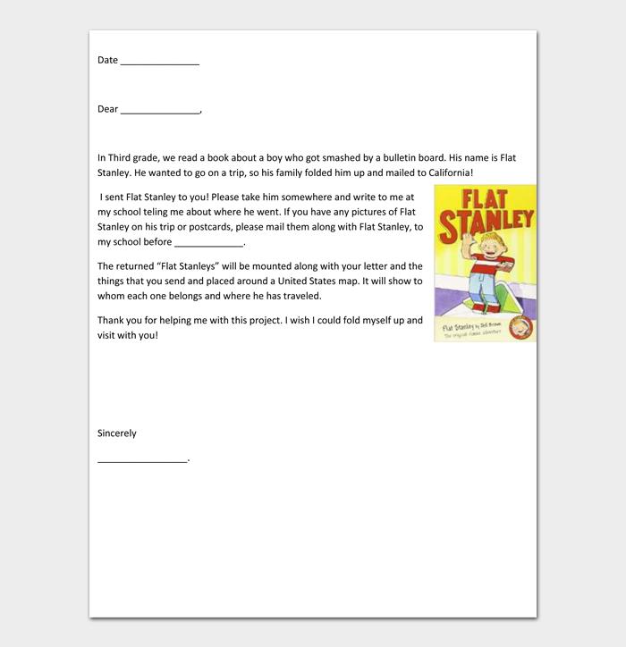 Flat Stanley Templates #09
