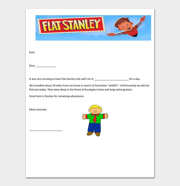 Flat Stanley Templates #10