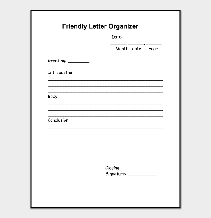 Friendly Letter #04