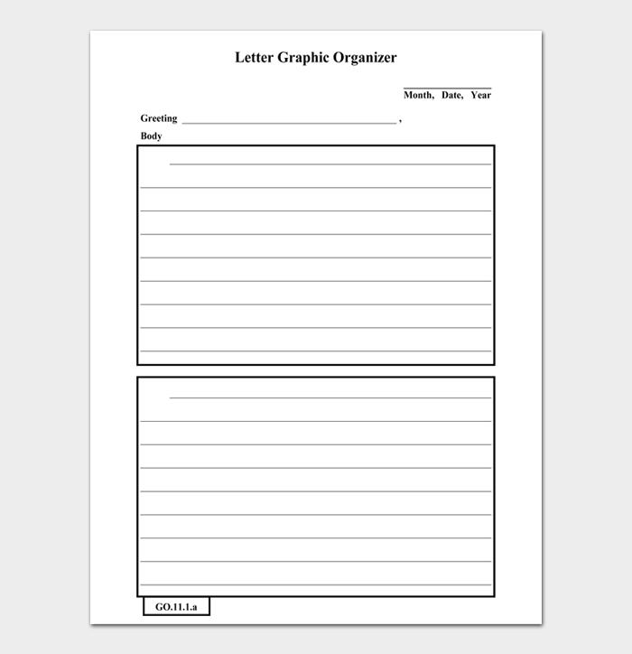 Letter Graphic Organizer