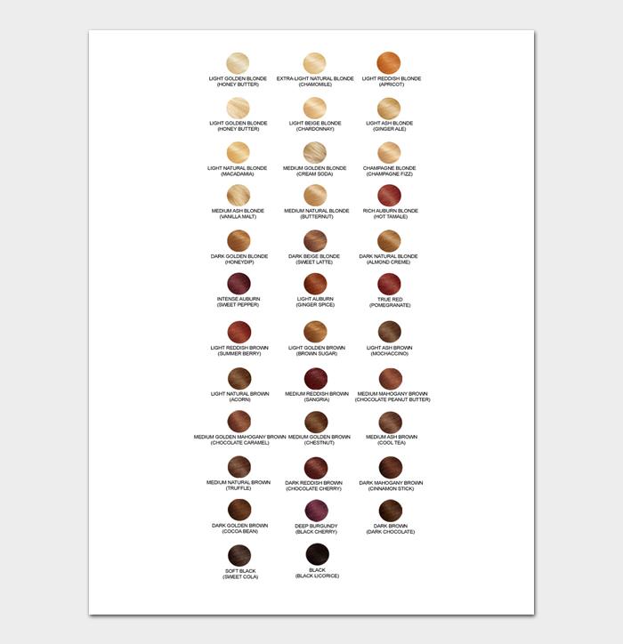 Redken Shades EQ Color Chart #03