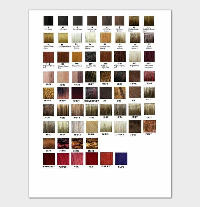 Redken Shades EQ Color Chart #06