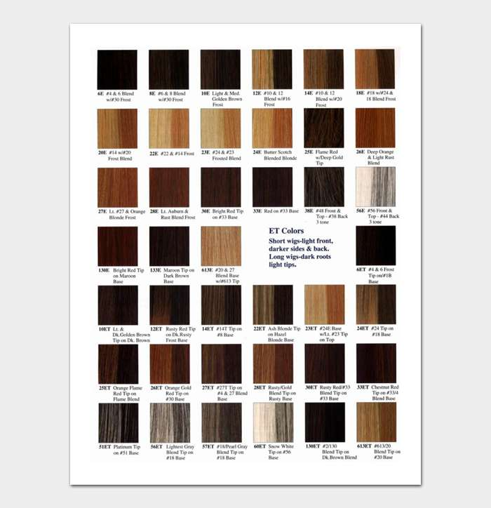 Redken Shades EQ Color Chart #08