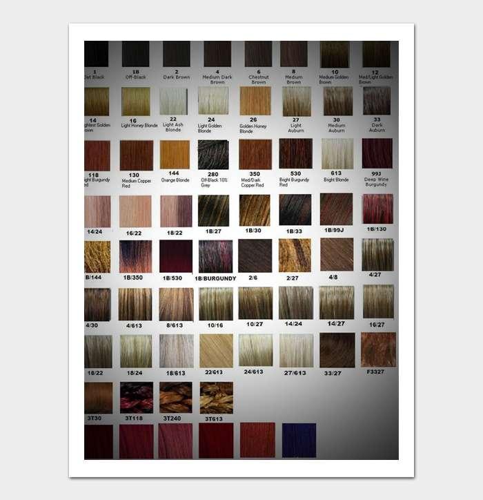Redken Shades EQ Color Chart #09