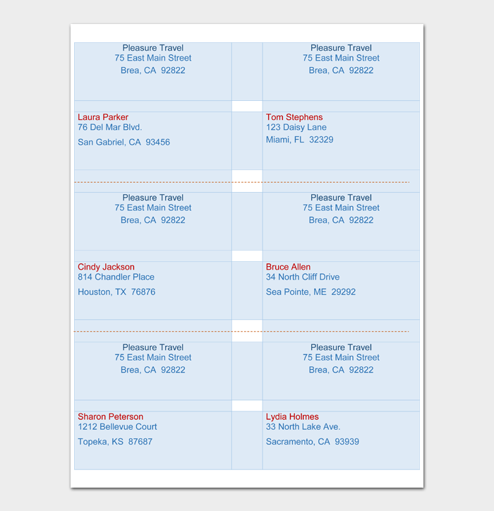 Shipping Label Template #06