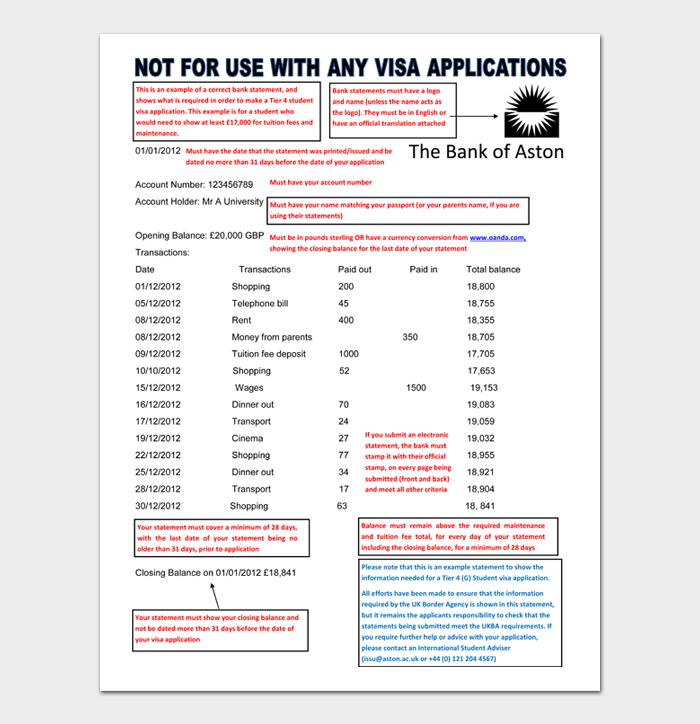 Bank Statement #05