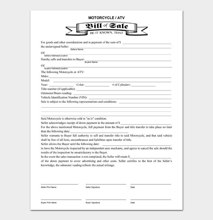 Bill of Sale Main #04