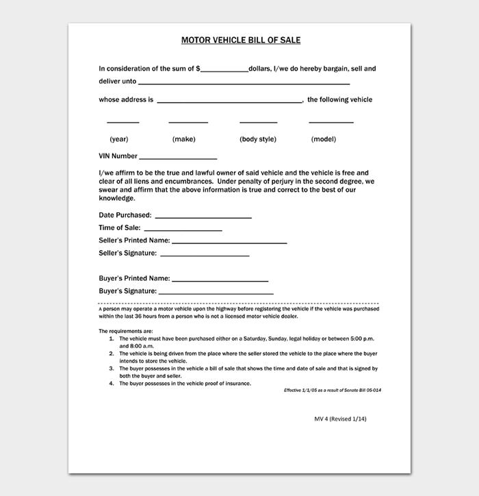 Bill of Sale Main #09