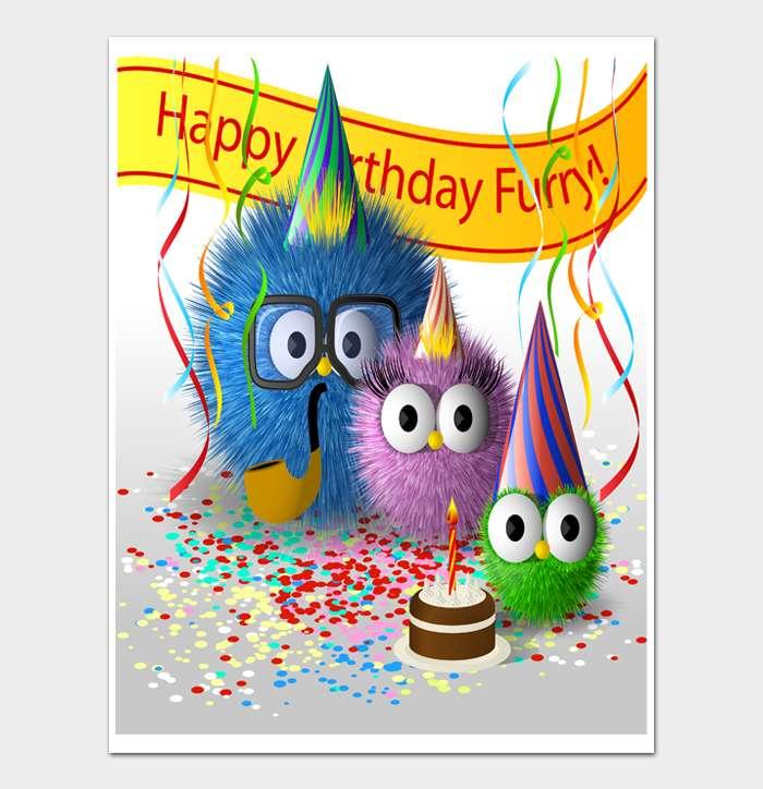 Birthday Card Template #10