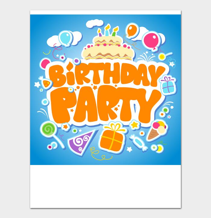 Birthday Card Template #11