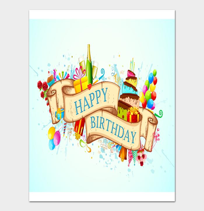 Birthday Card Template #17