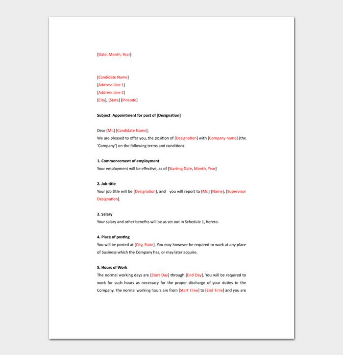 Business Letter Format #10