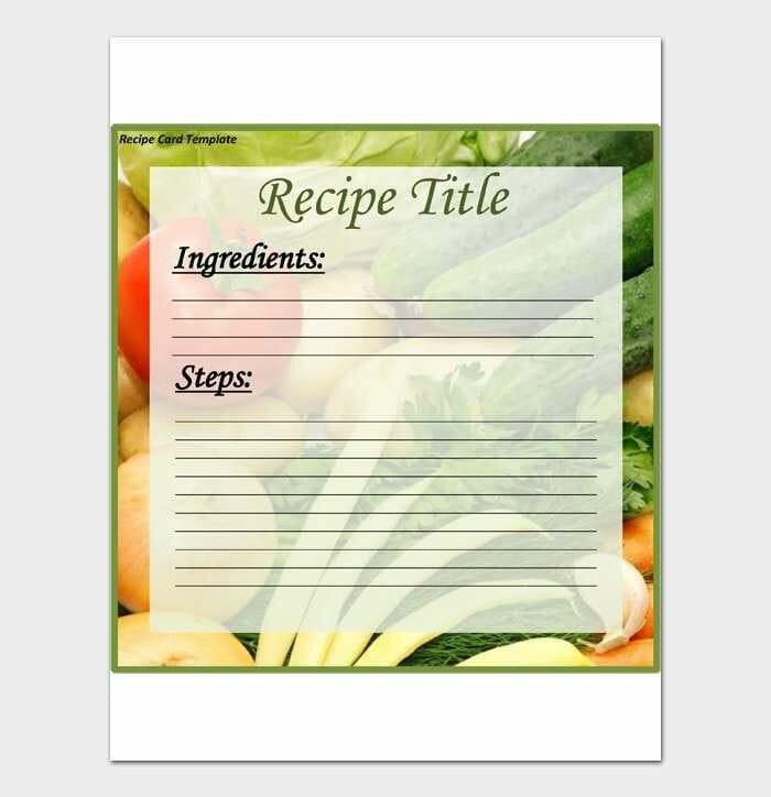 Cookbook Template #05
