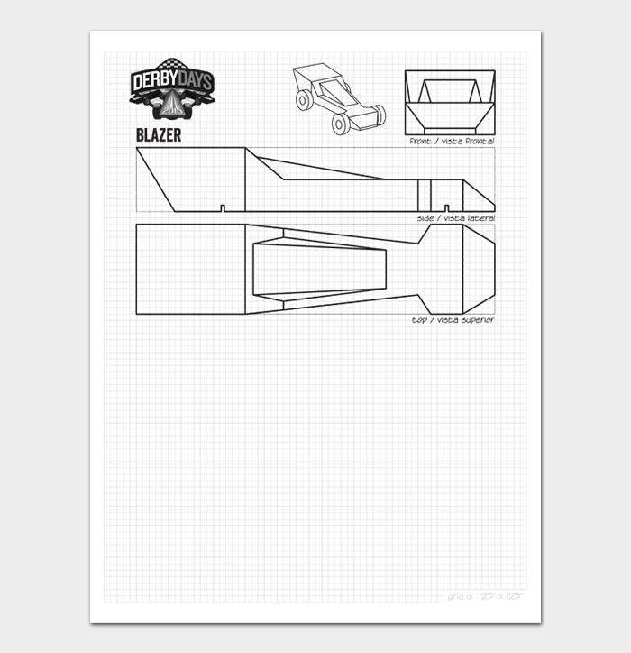 Pinewood Derby Car Designs & Templates #07