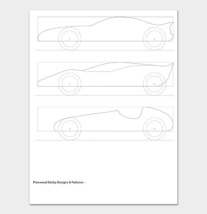 Pinewood Derby Car Designs & Templates #10