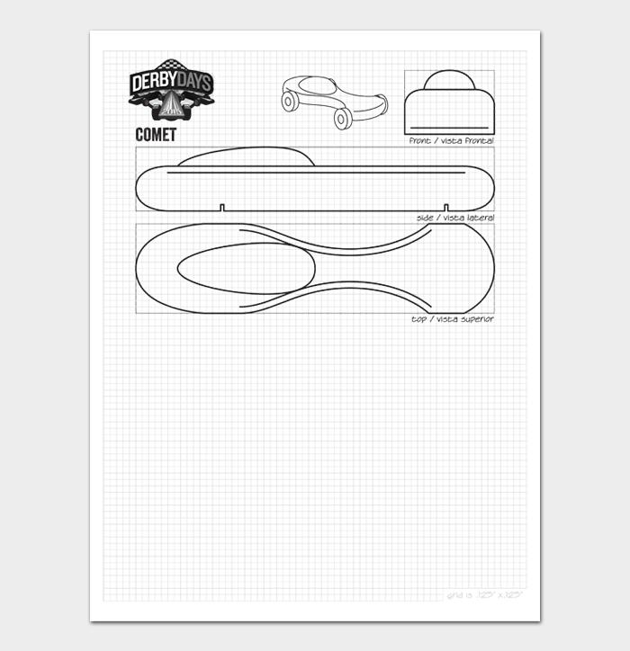 Pinewood Derby Car Designs & Templates #13