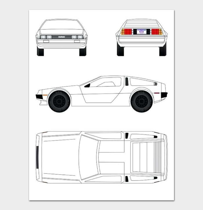 Pinewood Derby Car Designs & Templates #14