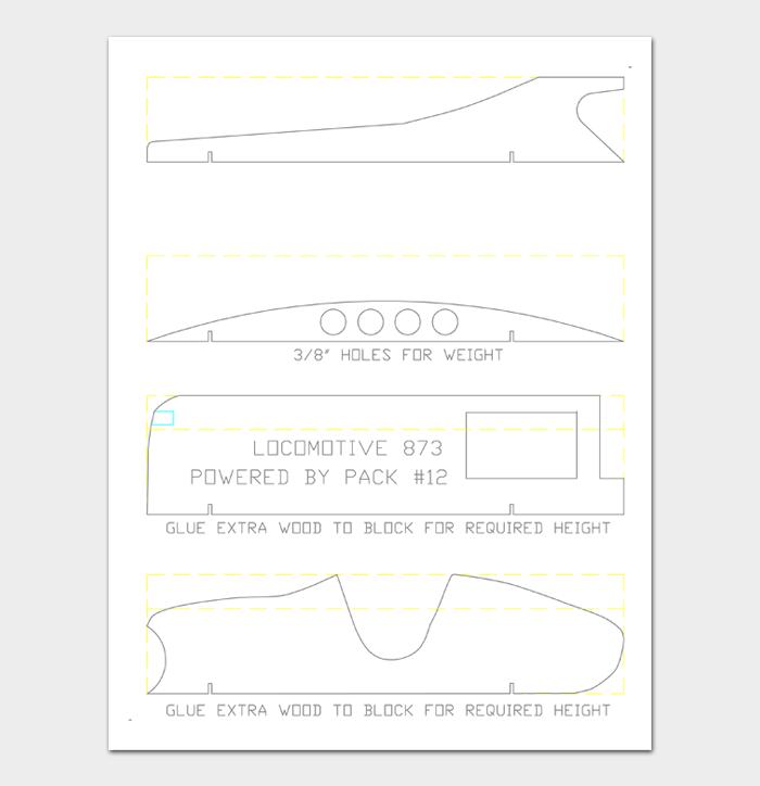 Pinewood Derby Car Designs & Templates #16