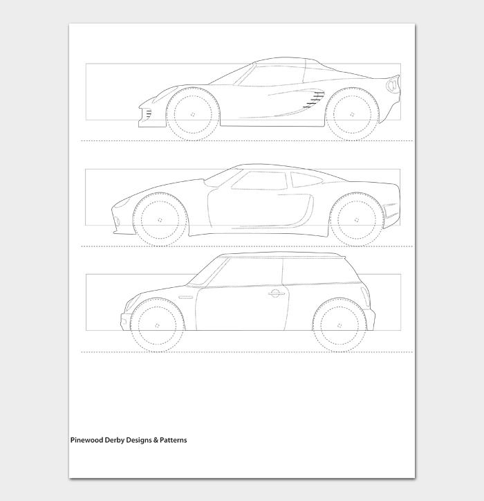 Pinewood Derby Car Designs & Templates #17