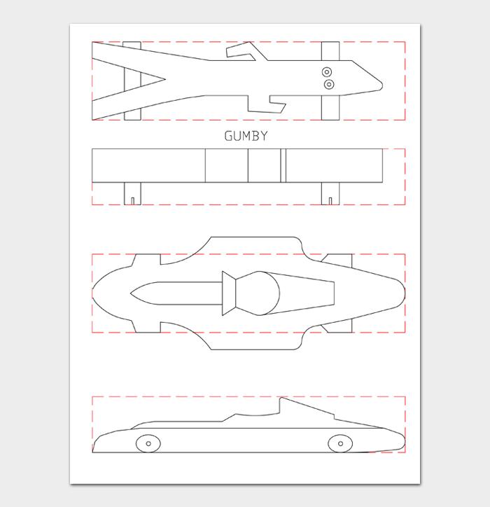 Pinewood Derby Car Designs & Templates #20